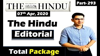 The Hindu editorial Today || 07 Apr 2020 || Mind the Gap