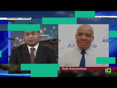 Madagascar Tv: vahinin'ny fandaharana Atoa Rado Rakotosalama