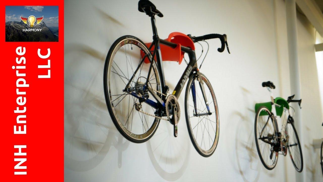 3 amazing wall mounted bike rack
