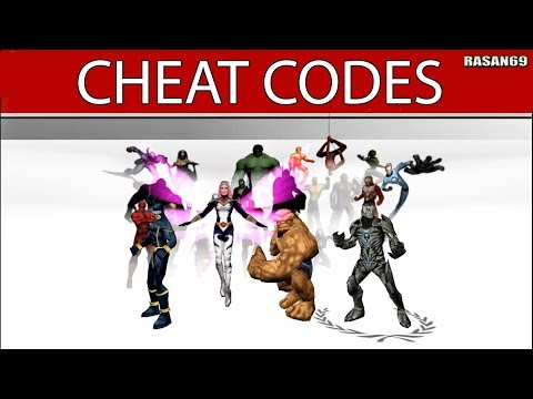 <b>Ultimate alliance cheat codes</b> for psp