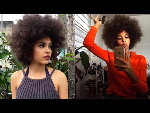 HOW TO GET AN AFRO (Requested)