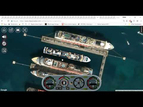 Ships2Career cruise ship sim basic tuturial |
