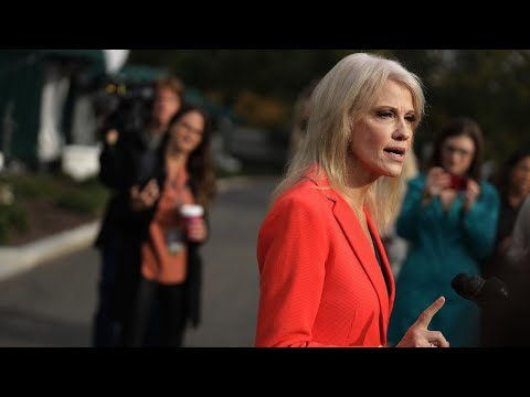 Kellyanne Conway tells reporter 'if I threaten someone, you'll know it'