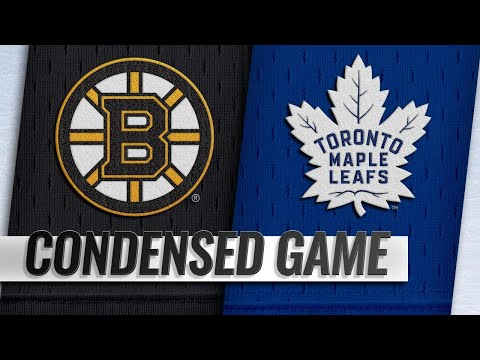 01/12/19 Condensed Game: Bruins @ Maple Leafs