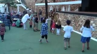 Amiliya at kids club Majorca may 2012