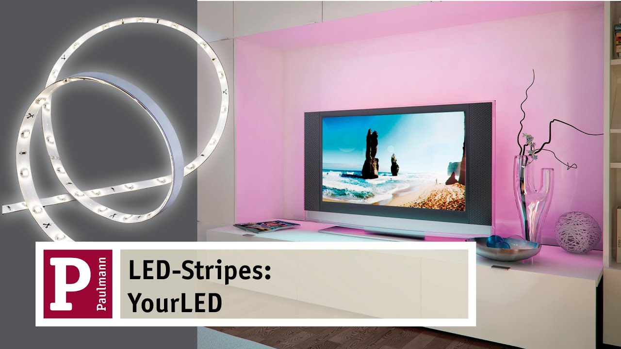 led strip licht effekte wohnr ume verwandeln mit led streifen yourled youtube. Black Bedroom Furniture Sets. Home Design Ideas