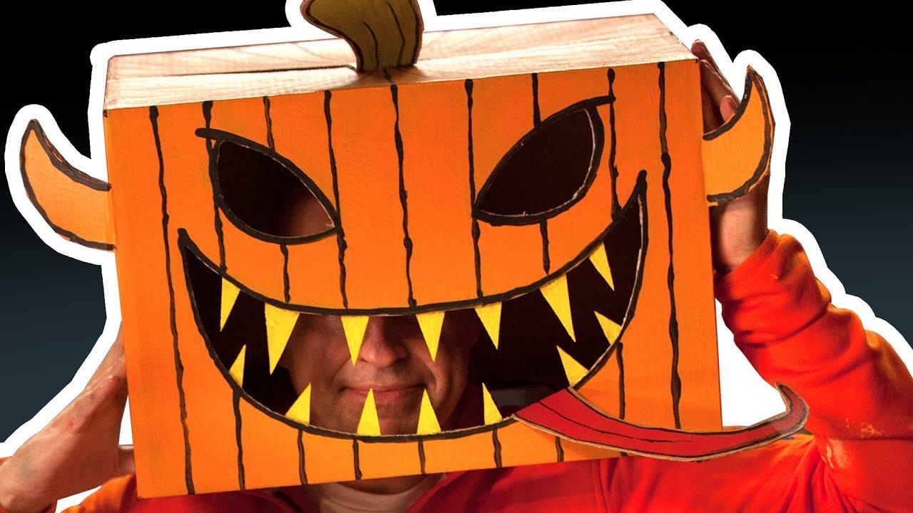 Cardboard pumpkin head halloween costumes crafts ideas with cardboard pumpkin head halloween costumes crafts ideas with boxes diy on box yourself solutioingenieria Choice Image