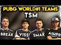 BEST PUBG TEAMS | TSM | BEST OF TSM BREAK, VISS, SMAK, AIMPR