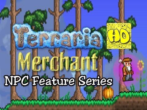 Terraria Feature Series: Merchant NPC (new npcs tutorial)