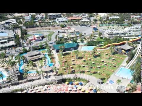 Hotel Star Beach Village & Water Park,Creta, Grecia - YouTube
