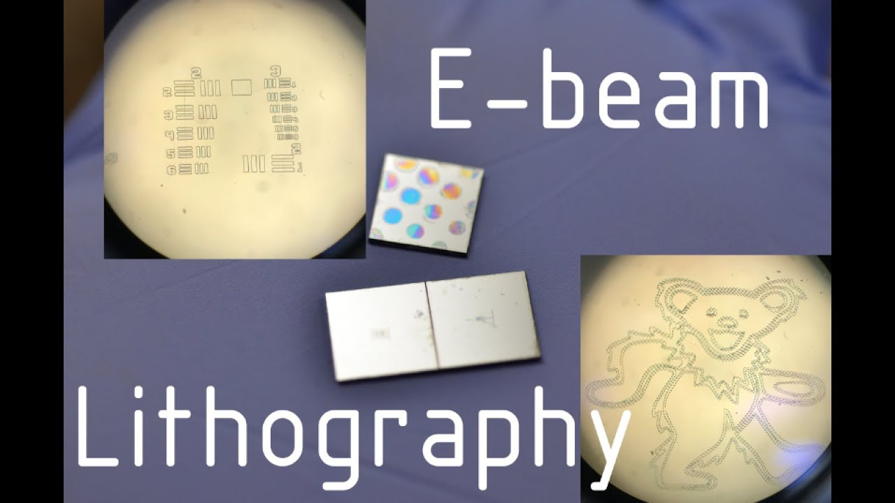 Tiny Art Etched Into Silicon Wafers With Electron Beam