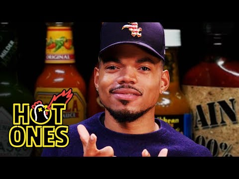 Chance The Rapper Takes On Spicy Wings