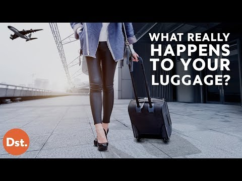 Thumbnail: This is What REALLY Happens to Your Luggage!