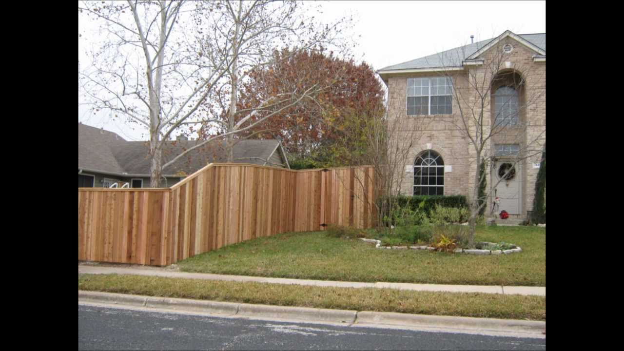Cap And Trim Fence Round Rock Tx 512 949 8943 Youtube
