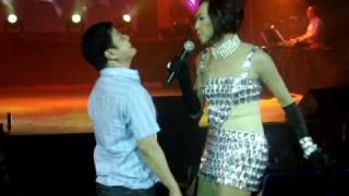Toni G. @ Aliw with guests Vice Ganda