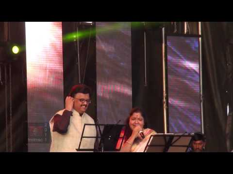 SPB 50 Grand Musical Tour in Toronto - S. P. B. and Chitra sing Idho Idho En Pallavi