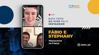 LIVE APMT com Fábio e Stephany   Missionários na França