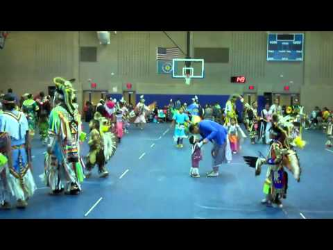 Sitting Bull College PowWow Participants Getting Ready!