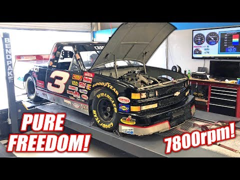 Dale Truck Hits the Dyno! Our LS7 Swapped NASCAR Makes GREAT Power!