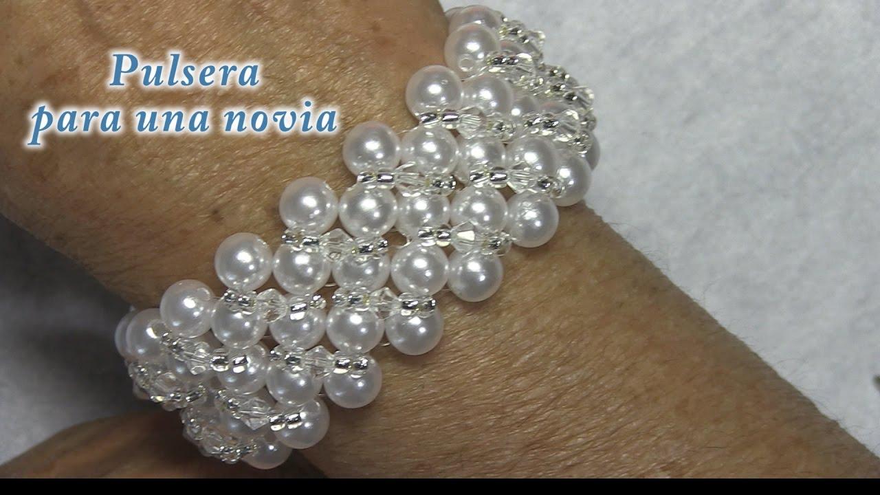 100% autentico diseño hábil ropa deportiva de alto rendimiento # DIY - Pulsera de novia # DIY - Bridal Bracelet