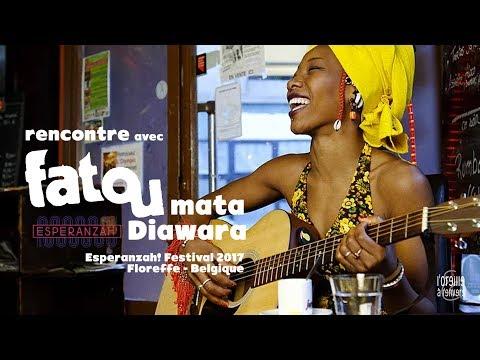 FATOUMATA DIAWARA / Interview / Esperanzah! 2017 / l'Oreille à l'envers