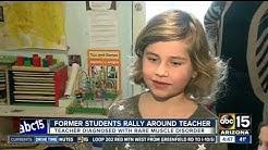 Valley students rally around teacher