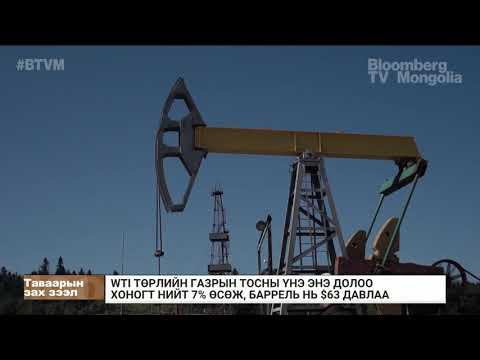 WTI төрлийн газрын тосны үнэ 7 хувиар өсөж, баррель нь 63 ам.доллар давав