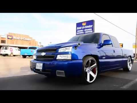 2006 F150 Rims >> Taking a cruise with a Super Sport Silverado (SS) with a custom paint job on 24 inch dub ballers ...