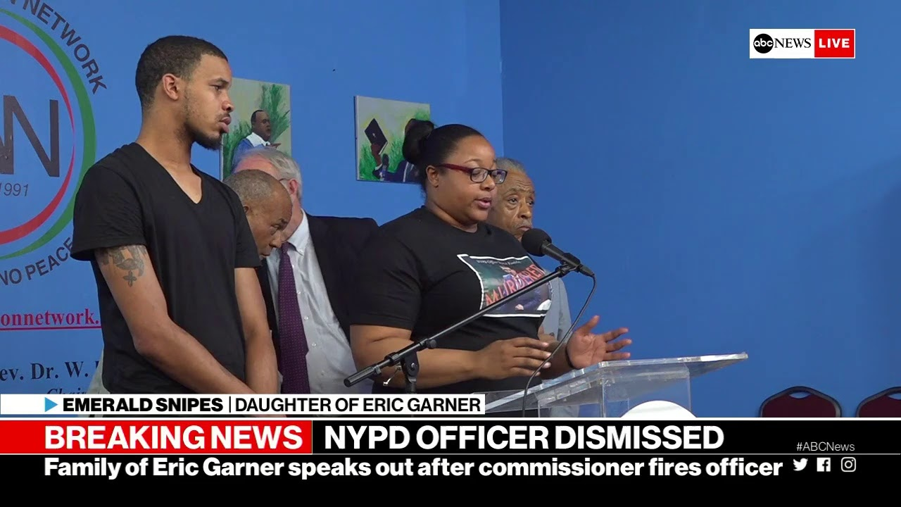 ABC News:Eric Garner case: NYPD commissioner makes announcement on cop at center of investigation  | ABC News