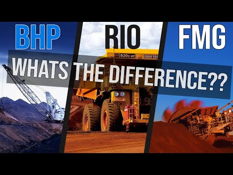 What's The Difference between Mining Companies BHP RIO FMG | ASX Review
