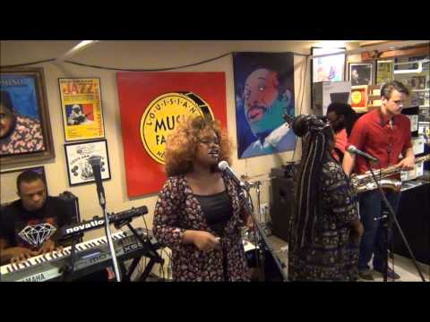 Tank and The Bangas @ Louisiana Music Factory 2015 - Record Store Day PT 2