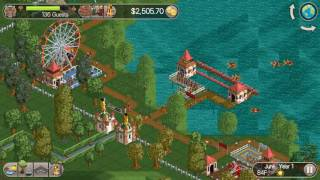 let s play rct classic leafy lake ep 2 junior rollercoaster