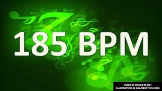 185 BPM Beats Per Minute # Metronome