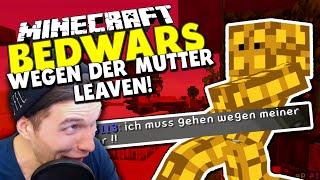 MITSPIELER MUSS LEAVEN WEGEN SEINER MUTTER?! ✪ Minecraft Bedwars Woche Tag 86 mit Smurf