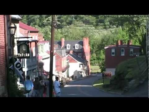 Stroll down Main Street - Harpers Ferry National Historical Park, West Virginia