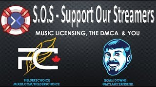 S.O.S.  We talked about the  DMCA with Noah Downs July 3rd 2018