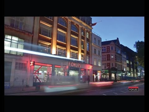 The Making of Foyles Bookshop: Watch us move 500,000 books in under 2 minutes