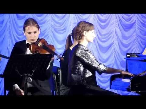 И.С.Бах. Концерт №1, ре-минор. Е.Поморева
