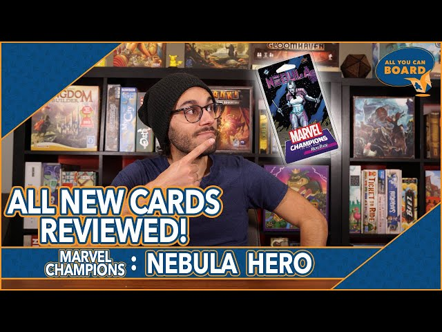 Nebula Hero Pack   Marvel Champions   All NEW Cards REVIEWED & ANALYZED!