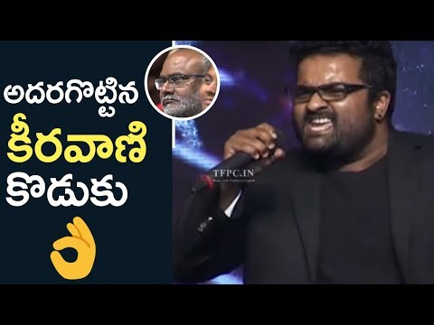 MM Keeravani Son Singer Kala Bhairava Terrific Live Performance | Yuddham Sharanam | TFPC