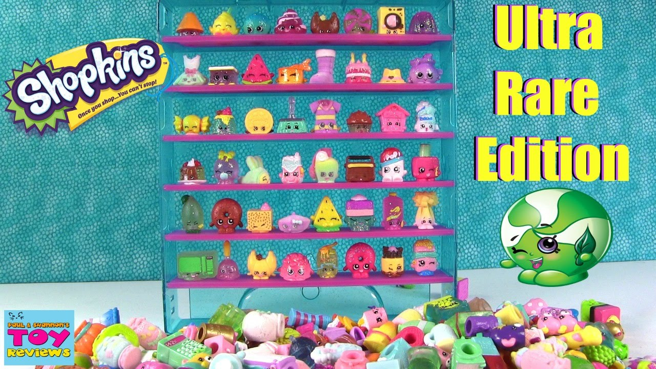 Another Try At Slark Ultra Rare: Shopkins Ultra Rare Collector Case Let's Decorate Season 1
