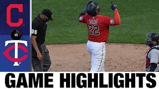 Miguel Sano, Kenta Maeda lead 3-0 shutout | Twins-Indians Game Highlights 8/1/20