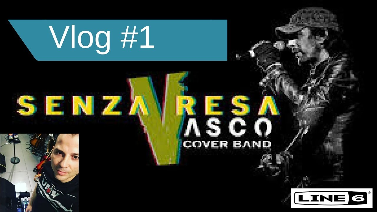 Band Di Vasco Vlog 1 Senza Resa Cover Band Di Vasco Rossi No Stop Tour 2018