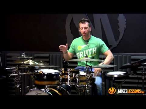 Drum Lesson with Mike Johnston Herta Fills