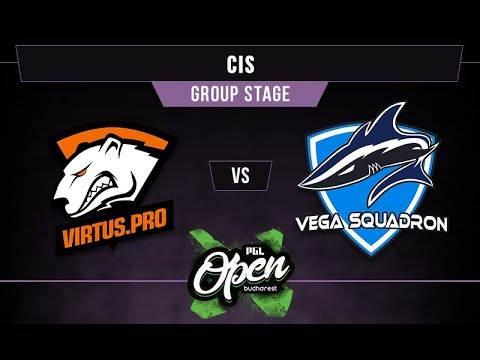VP vs Vega Game 2 - PGL Bucharest CIS Qual. Group A - @RobnrollGaming
