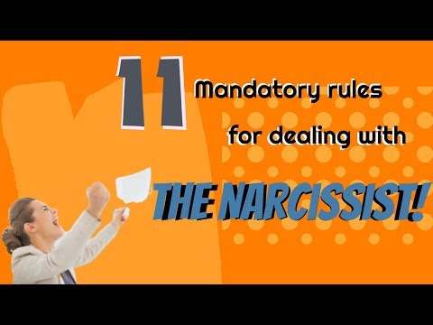 11 Mandatory Rules for Dealing With a Narcissist