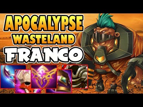 APOCALYPSE WASTELAND [by unXpected] FRANCO BUILD & GAMEPLAY MOBILE LEGENDS