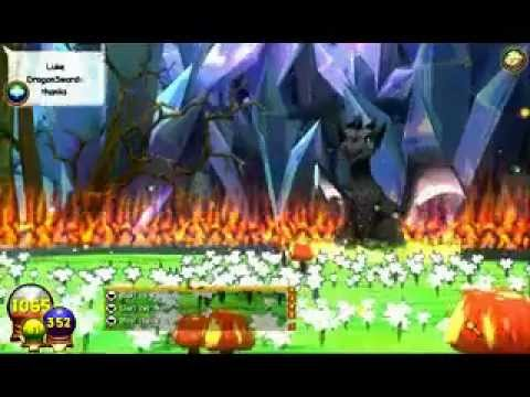 Wizard 101 Avalon Final Boss Battle Solo Black And White Dragon