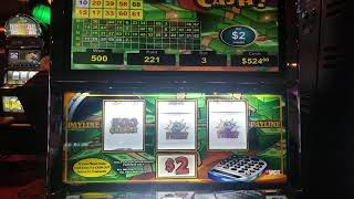 VGT SLOTS - $1000 Hit $2 COUNTIN CASH MACHINE NEW YEARS EVE -2019