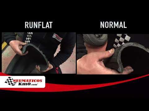▷ Neumáticos RunFlat: ¿qué son y qué ocurre si le realizamos un corte transversal?